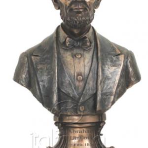 Figurine - Buste du président américain Abraham Lincoln