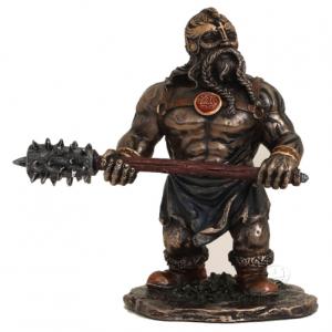 Figurine - Viking avec un marteau pour forger le fer