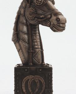 Figurine - Licorne de style Steampunk