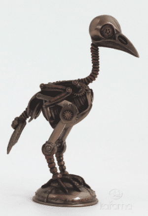 Figurine - Autruche façon Steampunk
