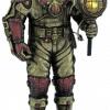 Figurine - Squelette de plongeur de type Steampunk avec sa lampe