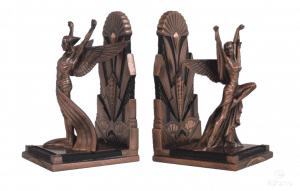 Figurine - Serre-livres de style Art Déco