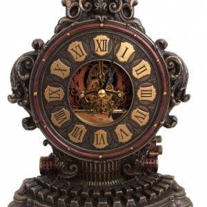 Horloge de machine à écrire façon Steampunk