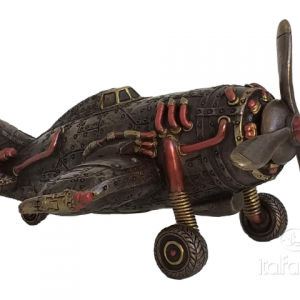 Figurine - Avion au style Steampunk