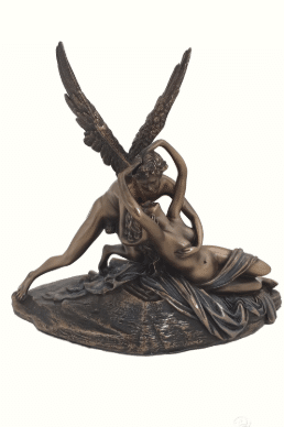 Figurine - Psyché et le baiser de l'Amour selon l'artiste Canova