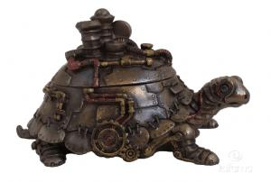 Figurine - Tortue de style Steampunk