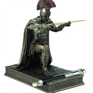 Figurine - Couteau à papier et porte-stylo du centurion de l'Empire romain