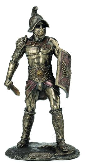Figurine - Gladiateur mirmillon